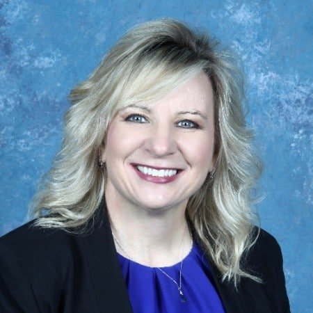 picture of Denise Hobson, marketing director at Visual Edge Technology in North Canton, Ohio